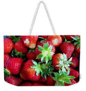 Fresh Ripe Perfect Strawberry Weekender Tote Bag