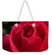 Fresh Rose Weekender Tote Bag