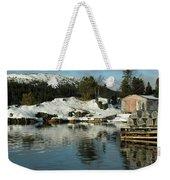 Fresh Snowfall  Weekender Tote Bag