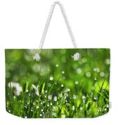 Fresh Spring Morning Dew Weekender Tote Bag