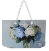 Fresh Summer Hydrangea 2 Weekender Tote Bag