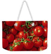 Fresh Tomotos On The Vine Weekender Tote Bag