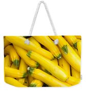 Fresh Yellow Squash  Weekender Tote Bag
