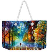 Freshness Of Cold Weekender Tote Bag