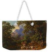 Frey  Johann Jakob 1813 Basel   1865 Frascati  Wedding Procession Of Italian Farmers Weekender Tote Bag
