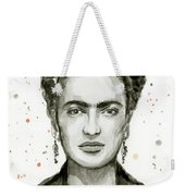 Frida Kahlo Portrait Weekender Tote Bag