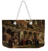 Friday At The Colosseum In Rome Amerigo Y Aparici  Francisco Javier Weekender Tote Bag