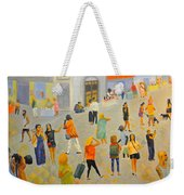 Friday In Tel Aviv Weekender Tote Bag