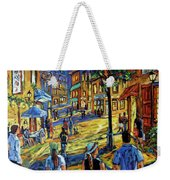 Friday Night Walk Prankearts Fine Arts Weekender Tote Bag