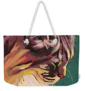 Friday Sunning Herself Weekender Tote Bag