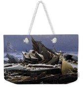Friedrich Caspar David The Sea Of Ice Weekender Tote Bag
