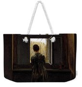 Friedrich Caspar David Woman At A Window Weekender Tote Bag