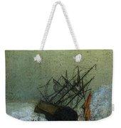 Friedrich Caspar David Wreck By The Sea Weekender Tote Bag