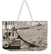 Friendly Fisherman Weekender Tote Bag
