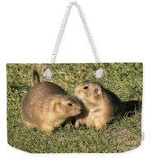 Friendly Prairie Dogs Weekender Tote Bag