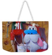 Friends 2  -  Pinocchio And Stimpy   Weekender Tote Bag