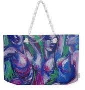 Friends - Girls Clubbing  Weekender Tote Bag