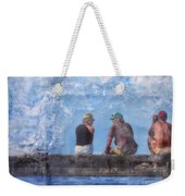 Friends In Paradise Weekender Tote Bag