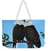 Friends Weekender Tote Bag by Tracey Goodwin