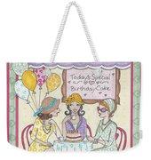 Friendship Cafe Weekender Tote Bag