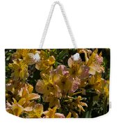 Friendship Yellow Alstroemeira Weekender Tote Bag