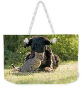 Friendships In The Animal World Is Possible Weekender Tote Bag