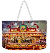 Fries Nachos Dogs Weekender Tote Bag