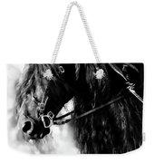 Friesian Horse Beauty Weekender Tote Bag