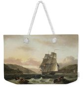 Frigate Of The Royal Navy Weekender Tote Bag