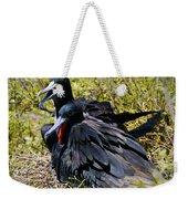 Frigatebirds In Love Weekender Tote Bag