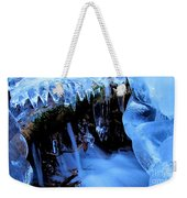 Frigid Flow Weekender Tote Bag