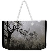Frigid Moonlit Night Weekender Tote Bag
