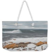 Frigid Waves Weekender Tote Bag
