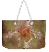 Frilly Iris Weekender Tote Bag