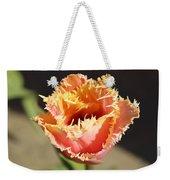 Fringed Tulip Weekender Tote Bag