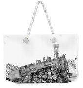 Steam Driven Locomotive Weekender Tote Bag