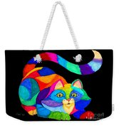 Frisky Cat Weekender Tote Bag