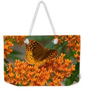 Frittalary And Milkweed Weekender Tote Bag