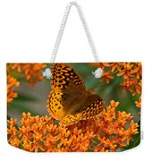 Frittalary Milkweed And Life Weekender Tote Bag