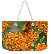 Frittalary Milkweed And Nectar Weekender Tote Bag