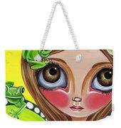 Frog Fairy Weekender Tote Bag