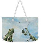 Frog Fly And Mantis Weekender Tote Bag