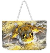 Frog In Deep Water Weekender Tote Bag