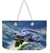 Frog In Water Weekender Tote Bag