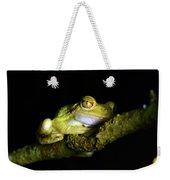 Frog Night Feeding Weekender Tote Bag