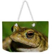 Frog Posing Weekender Tote Bag