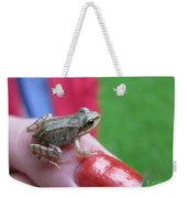 Frog The Prince Weekender Tote Bag