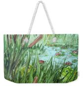 Frog Went A-courtin Weekender Tote Bag