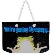 Frog  You're Getting Sleeeeeeepy Weekender Tote Bag