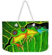 Froggie Trio Weekender Tote Bag